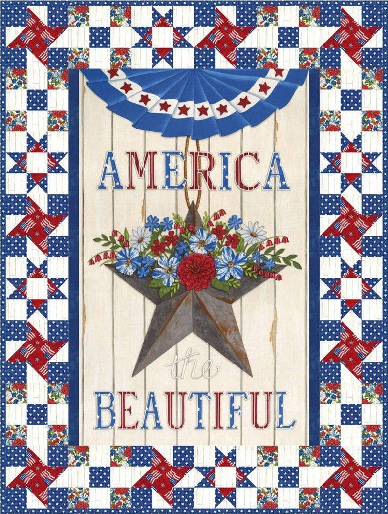 America the Beautiful quilt kit by Deb Strain for Moda Fabrics KIT19980