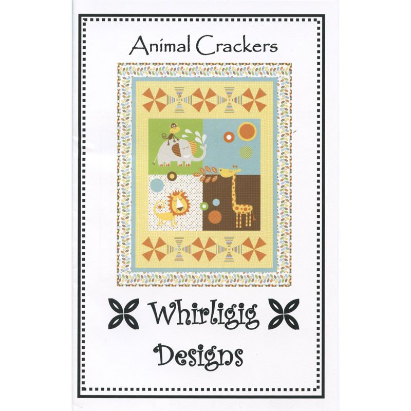 Animal Crackers, Quilting Pattern by Whirligig Designs : AC-WD
