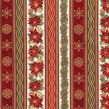 Holiday Flourish 11 by Peggy Toole for Robert Kaufman Fabrics : APTM-17339-223