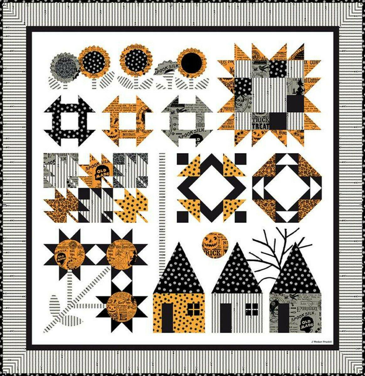Autumn Acres Quilt Kit by J. Wecker Frisch for Riley Blake Designs KTB-20367