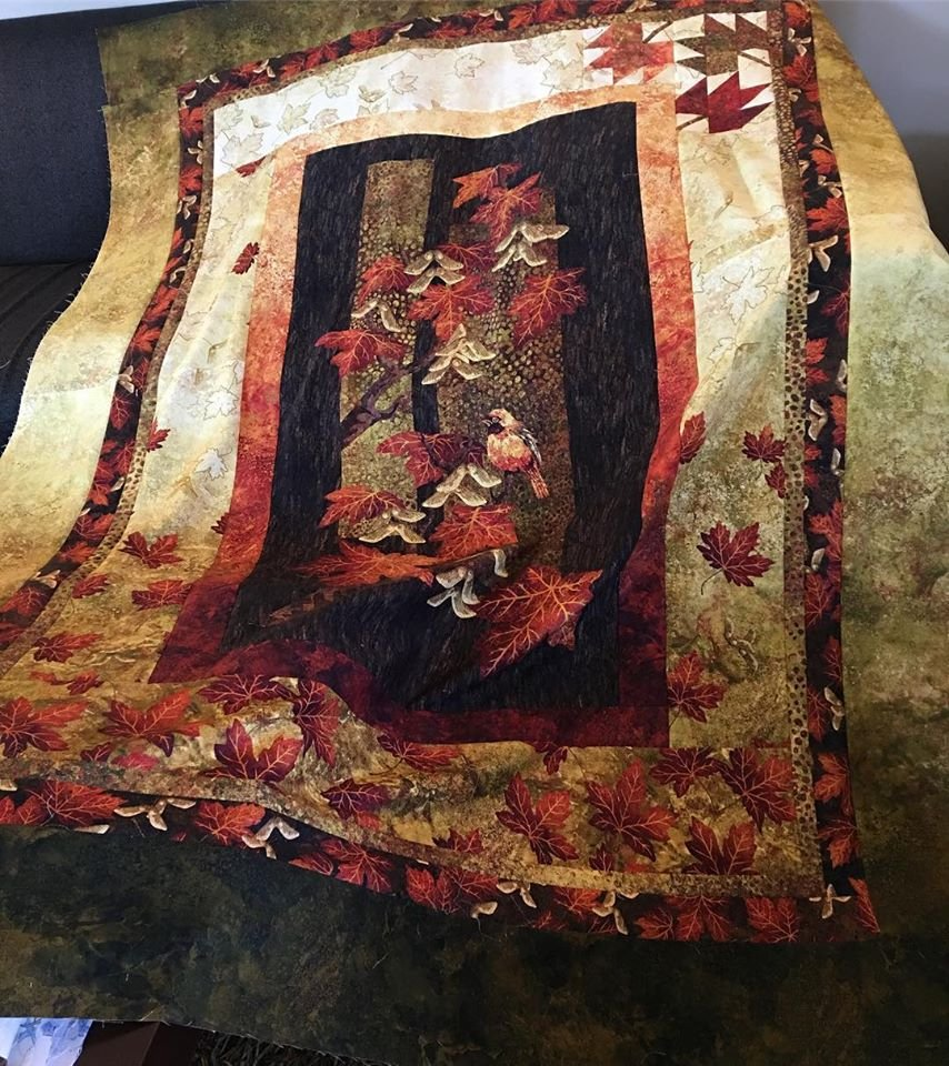 Autumn Splendor fabric kit