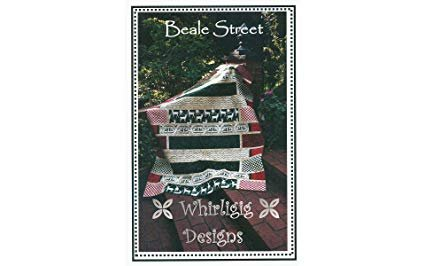 Beale Street, Quilting Pattern by Whirligig Designs : BS-GL