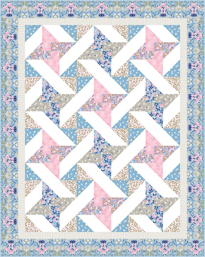 Best Buds quilt kit by The Whimsical Workshop for QT Fabrics KIT4023A