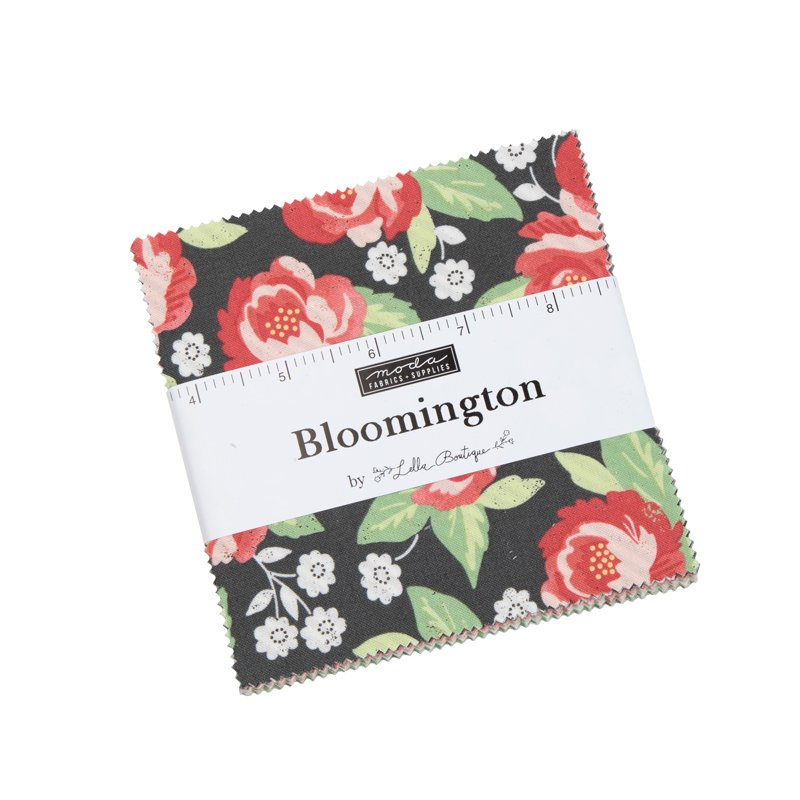 Bloomington charm pack by Lella Boutique for Moda Fabrics 5110PP