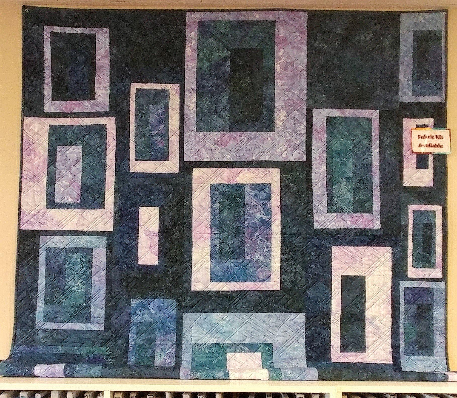 Boundaries, Fabric Kit, Pattern by Tamarinis : PTN2123
