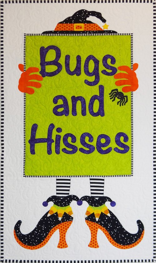 Bugs and Hisses by Sandy Fitzpatrick for Hissyfitz Designs : HD0710