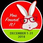 ! You Found It - December !