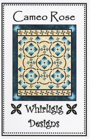 Cameo Rose, Quilting Pattern by Whirligig Designs : CR-WD