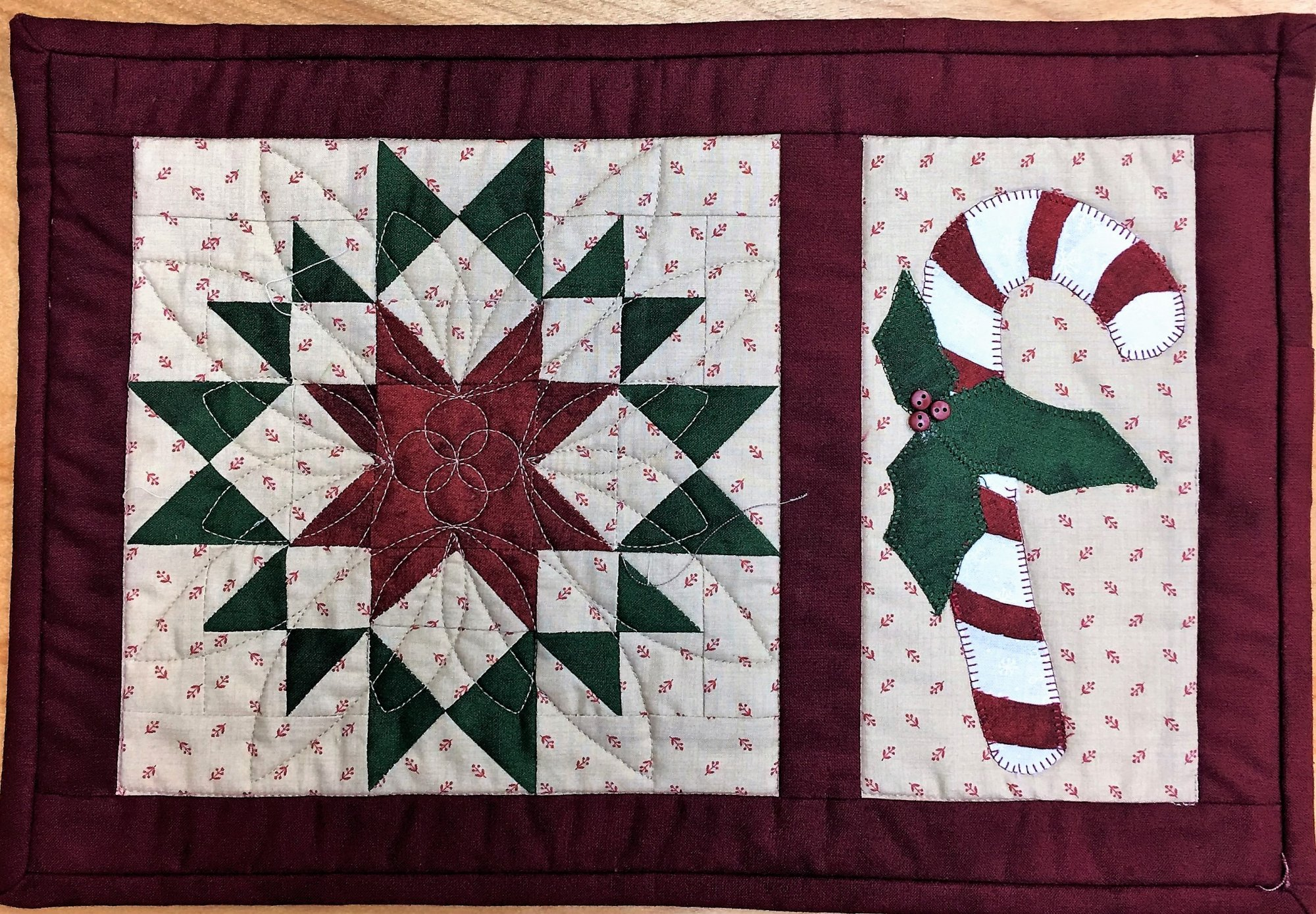 Candy Cane - Finished Quilt