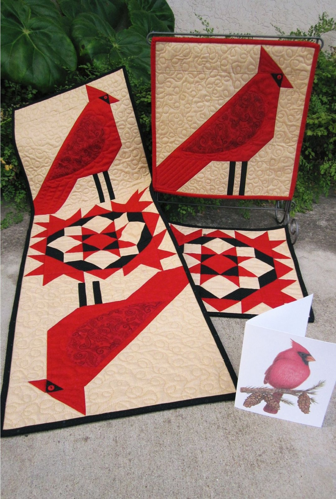 Cardinal Quilts by Suzanne's Art House : 183