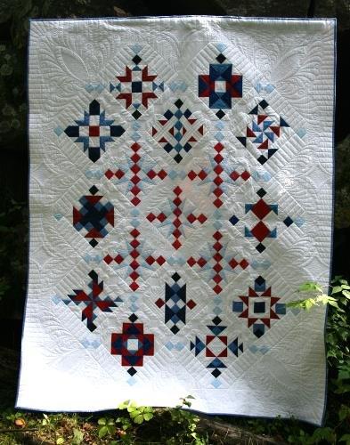 Cedar Mills quilt pattern by Whirligig Designs WD-CMBOM