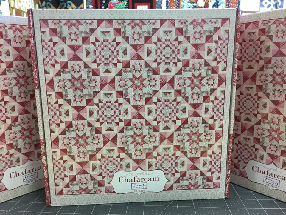 Chafarcani quilt kit by French General for Moda Fabrics KIT13850