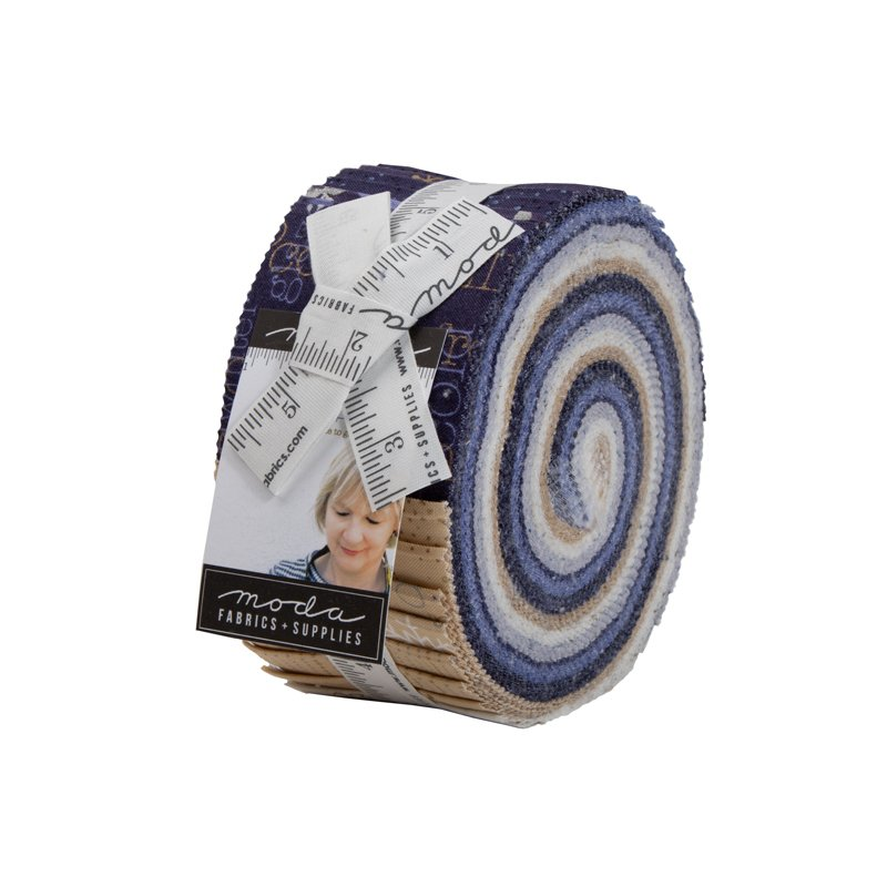 Chill Jelly Roll fabric by Zen Chic for Moda Fabrics 1710JR