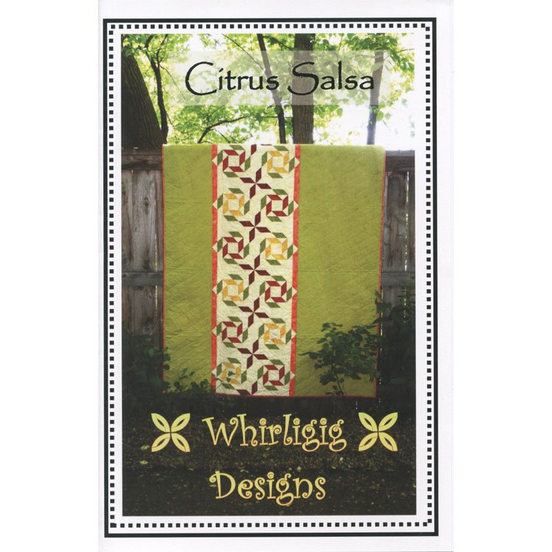 Citrus Salso, Quilting Pattern by Whirligig Designs : CS-WD