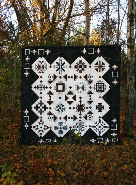 Copper Canyon quilt pattern by Whirligig Designs WD-CCBOM