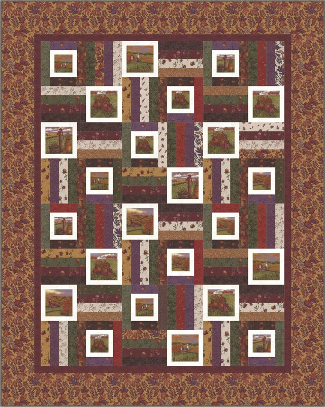 Country Charm fabric kit by Holly Taylor and Moda Fabrics KIT6790