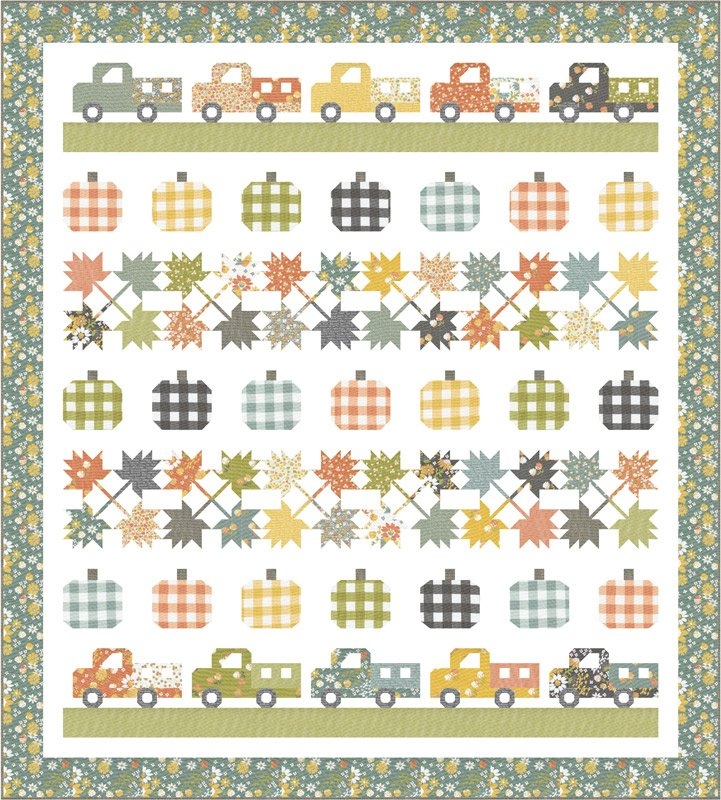 Cozy Up Quilt Kit by Corey Yoder for Moda Fabrics KIT29120