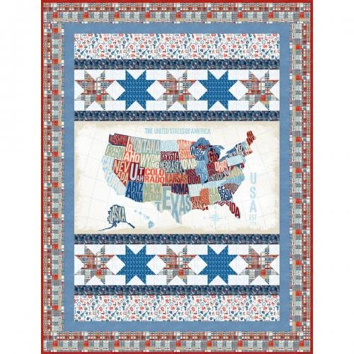 Cross Country, Fabric Kit, Pattern by Windham Fabrics : CC-Kit