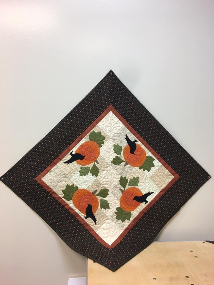 Crows In The Patch fabric kit