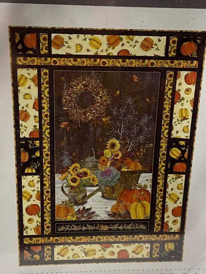 Fall Splendor Quilt Kit by Pine Tree Country Quilts for QT Fabrics KIT 4025A