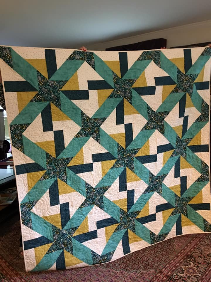 Five Spice fabric quilt kit