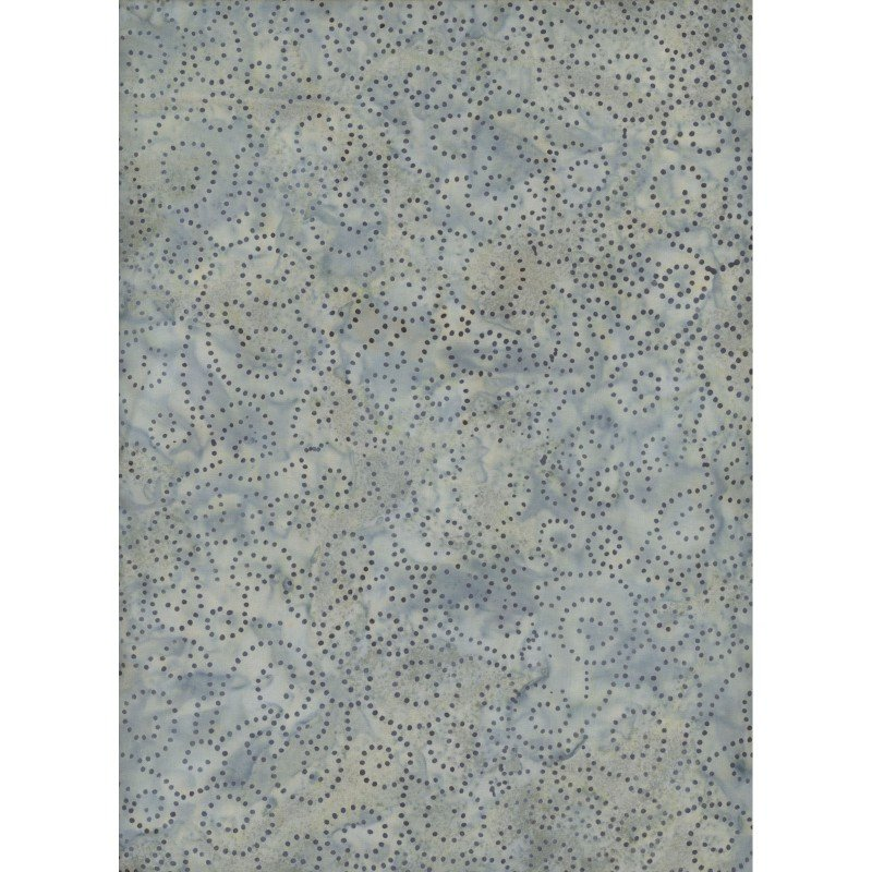 Java Indigo, Swirly Dots by Fresh Water Designs : FWDIND-010