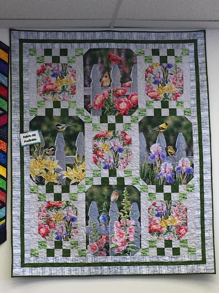 Garden Tour Fabric Kit