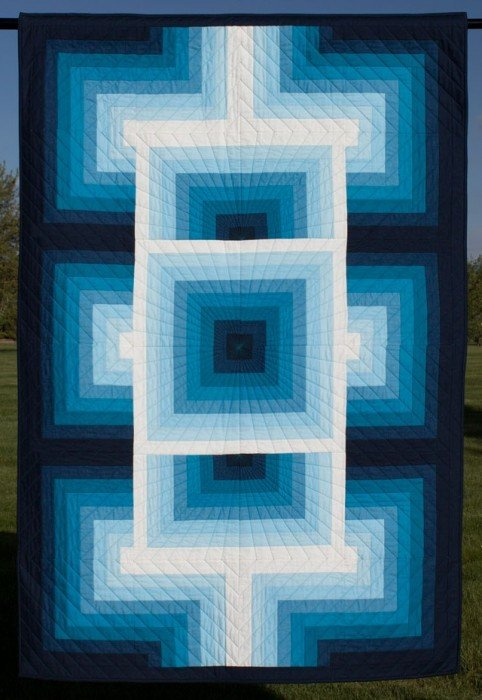 gRadiant, Quilting Pattern by Seams Like a Dream Quilt Designs : 1401