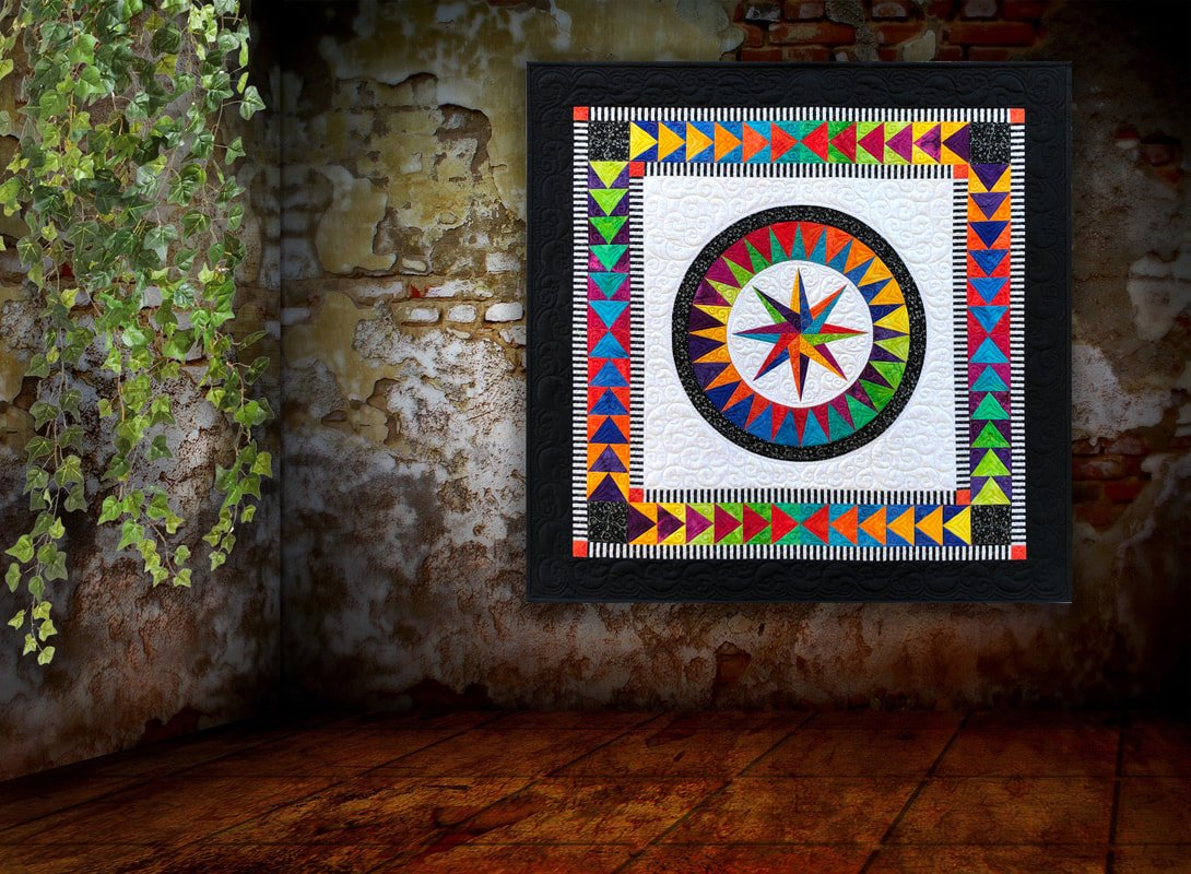BeColourful Happiness 2.0 quilt kit by Jacqueline de Jonge BC1902