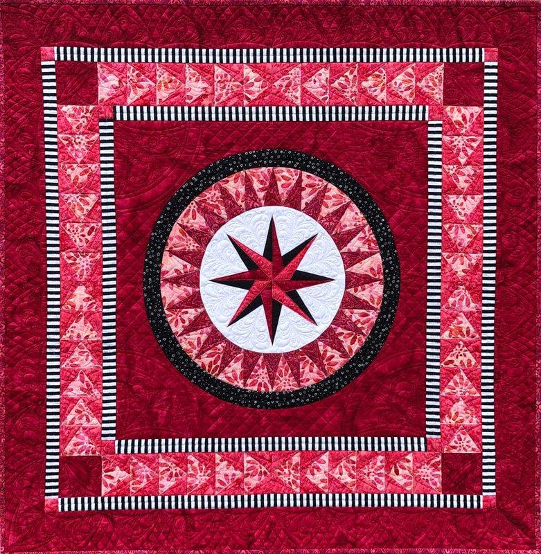 Happiness 2.0 Romance fabric kit and pattern by Jacqueline de Jonge and Anthology Fabrics 52233QK-X