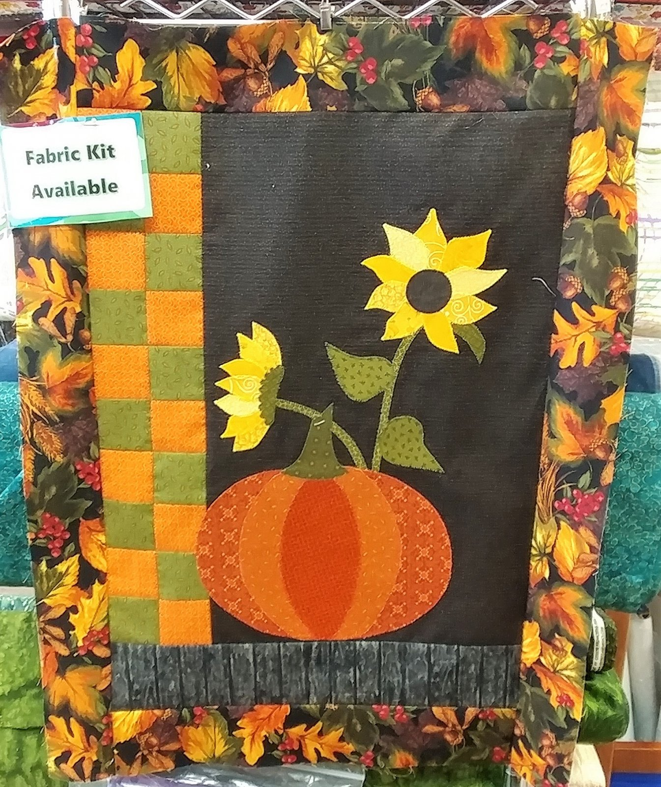 Harvest Blessings, Quilt Kit, Pattern by Calico Patch Designs : CP276
