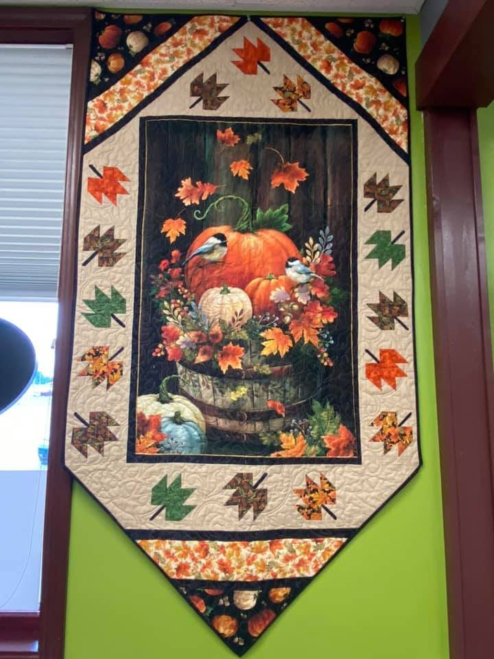 Harvest Elegance wall hanging fabric kit