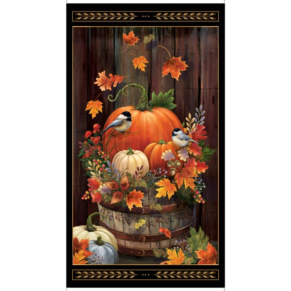 Harvest Panel by QT Fabrics 1649-27669-J