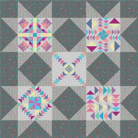 Dandy Days Block of the Month