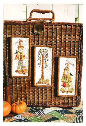 Itty Bitty Harvest Friends by Pearl Louise Designs : 516