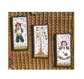 Itty Bitty Raggies by Pearl Louise Designs : 512
