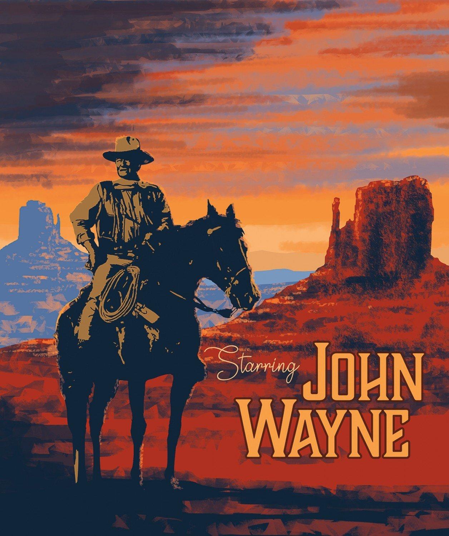 John Wayne fabric panel by Riley Blake P8576-Panel