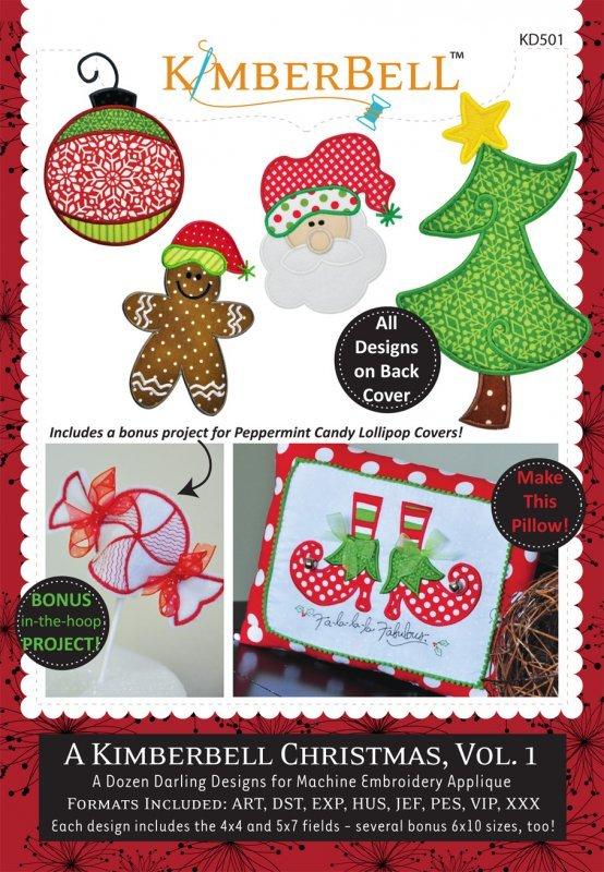 A Kimberbell Christmas, Vol. 1 CD by Kimberbell Designs : KD501