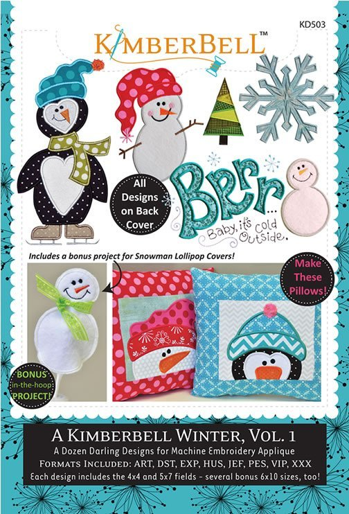 A Kimberbell Winter, Vol. 1 CD by Kimberbell Designs : KD503