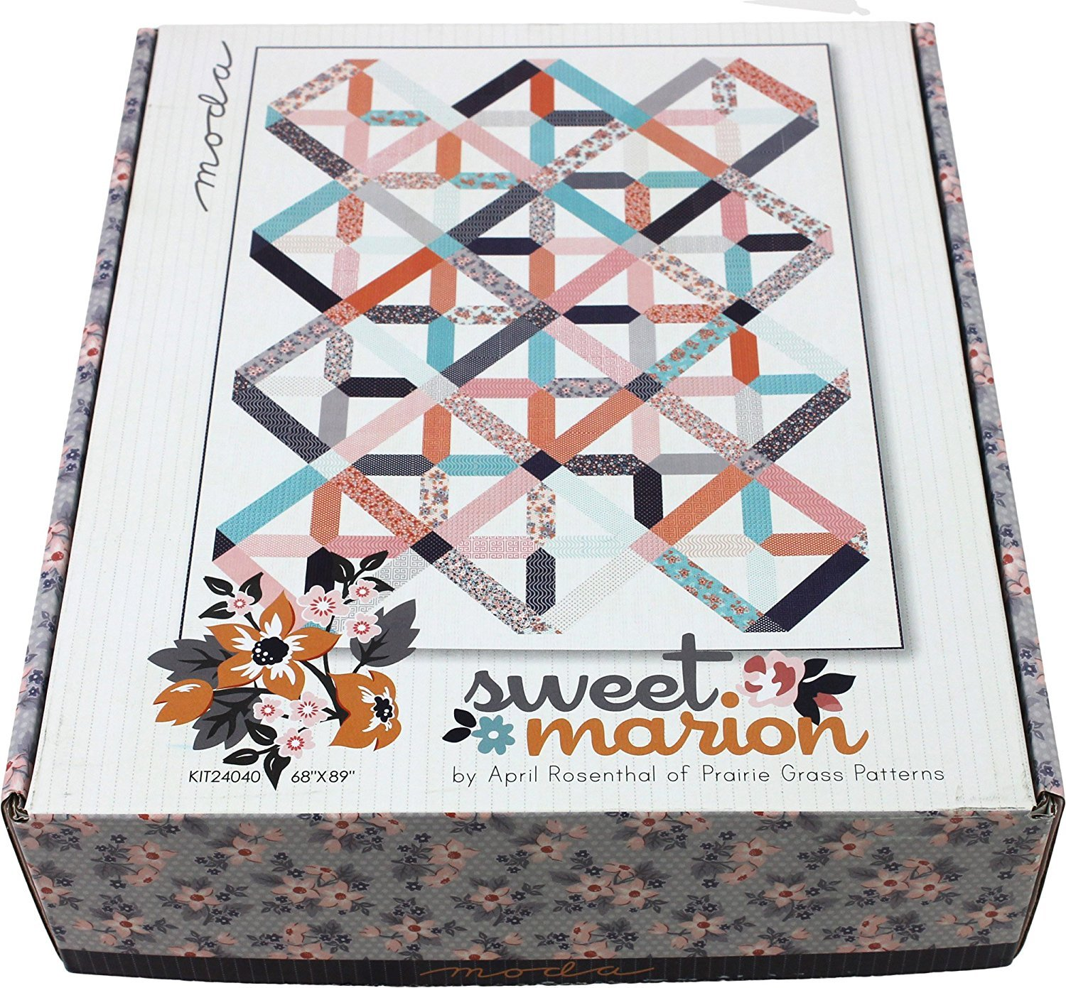 Sweet Marion, Fabric Kit by April Rosenthal for Moda : KIT24040