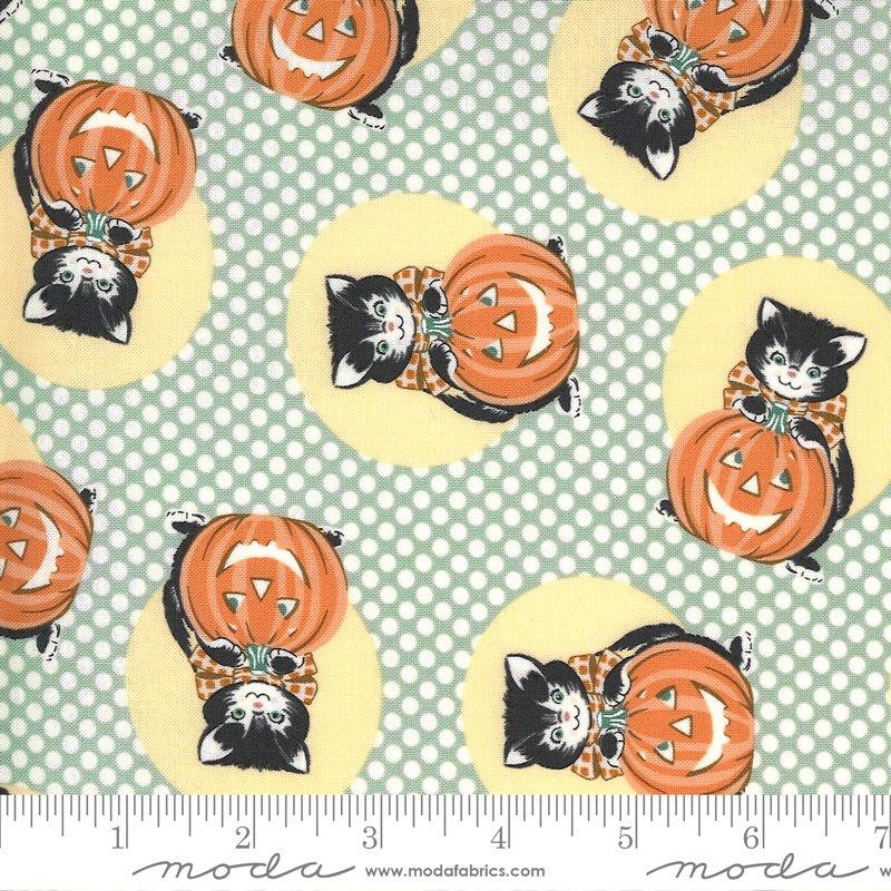 Kitty Corn Fabric, Goblin by Urban Chicks for Moda Fabrics 31171-15