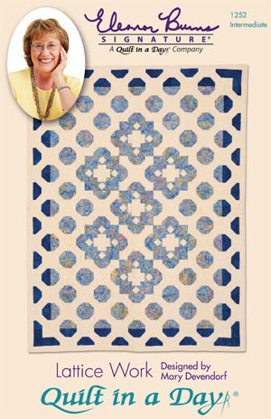 Lattice Work by Mary Devendorf for Quilt in a Day : 1252