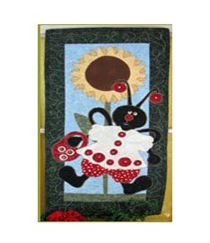 Lizzy Lad Bug, August Charmer by Pearl Louise Designs : 560
