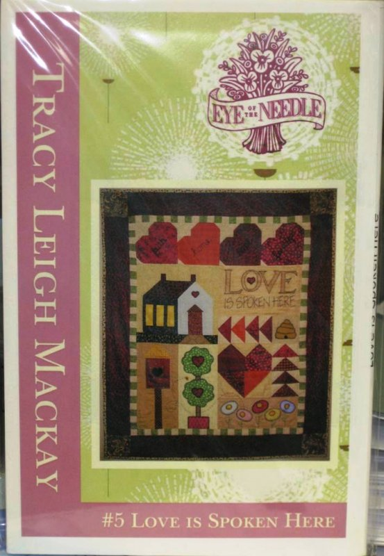 Love is Spoken Here by Tracy Leigh Mackay for Eye of the Needle Designs : #5