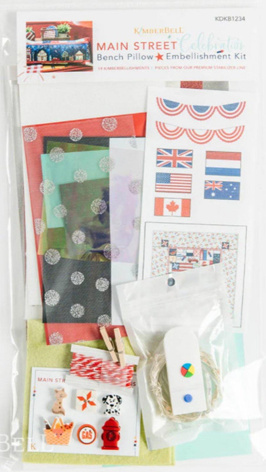 Main Street Celebration Embellishment kit by Kimberbell Designs KDKB1243