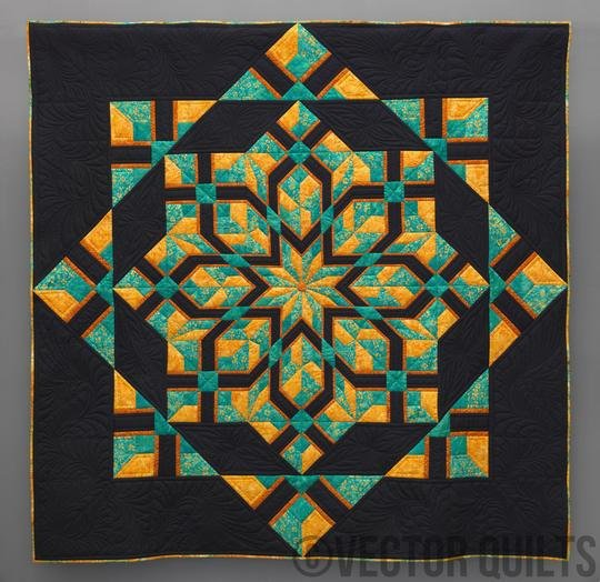 Malachite Foundation Paper Piecing pattern