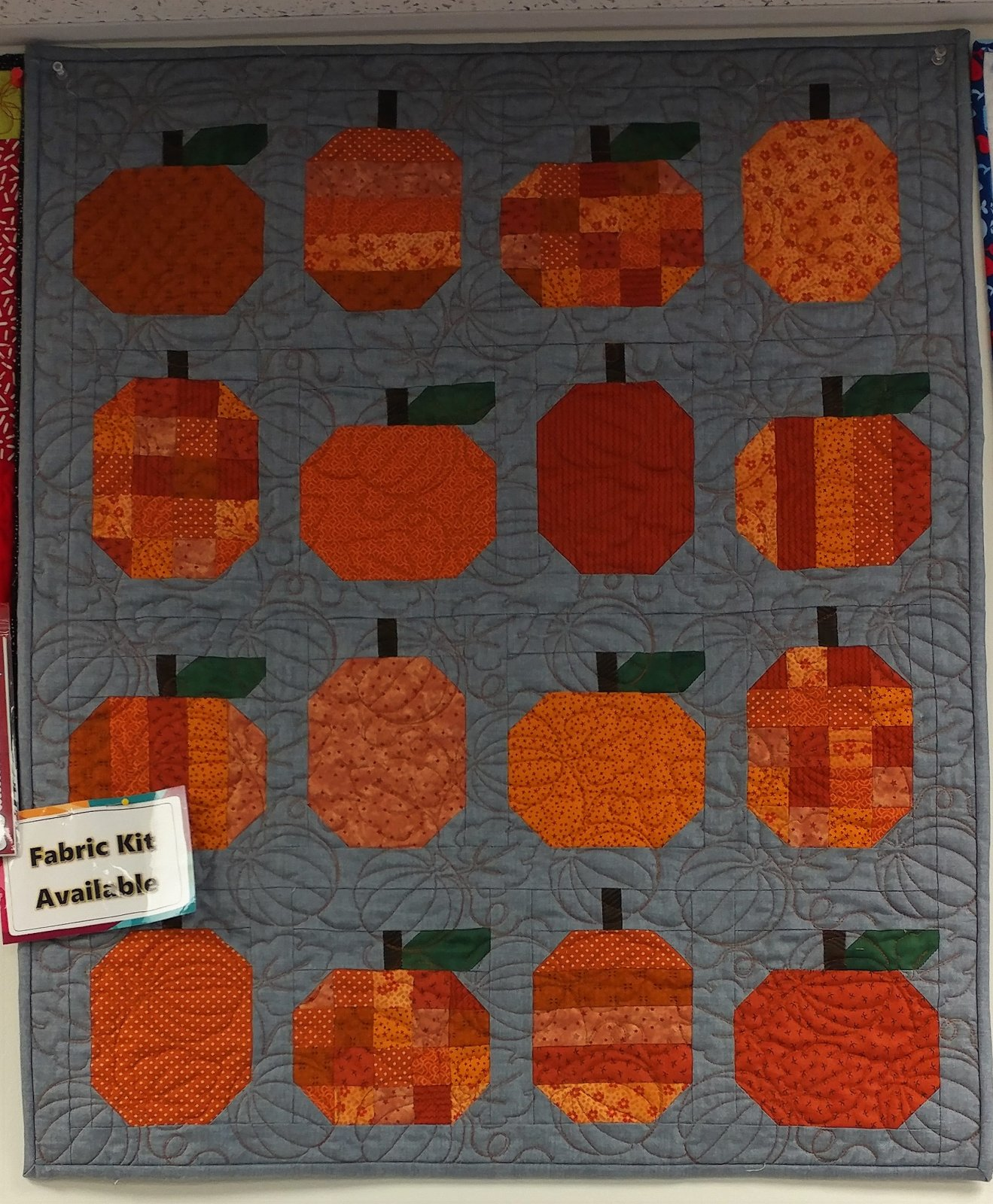 Mini Pumpkins, Fabric Kit, Pattern by Cluck Cluck Sew : CCS-174