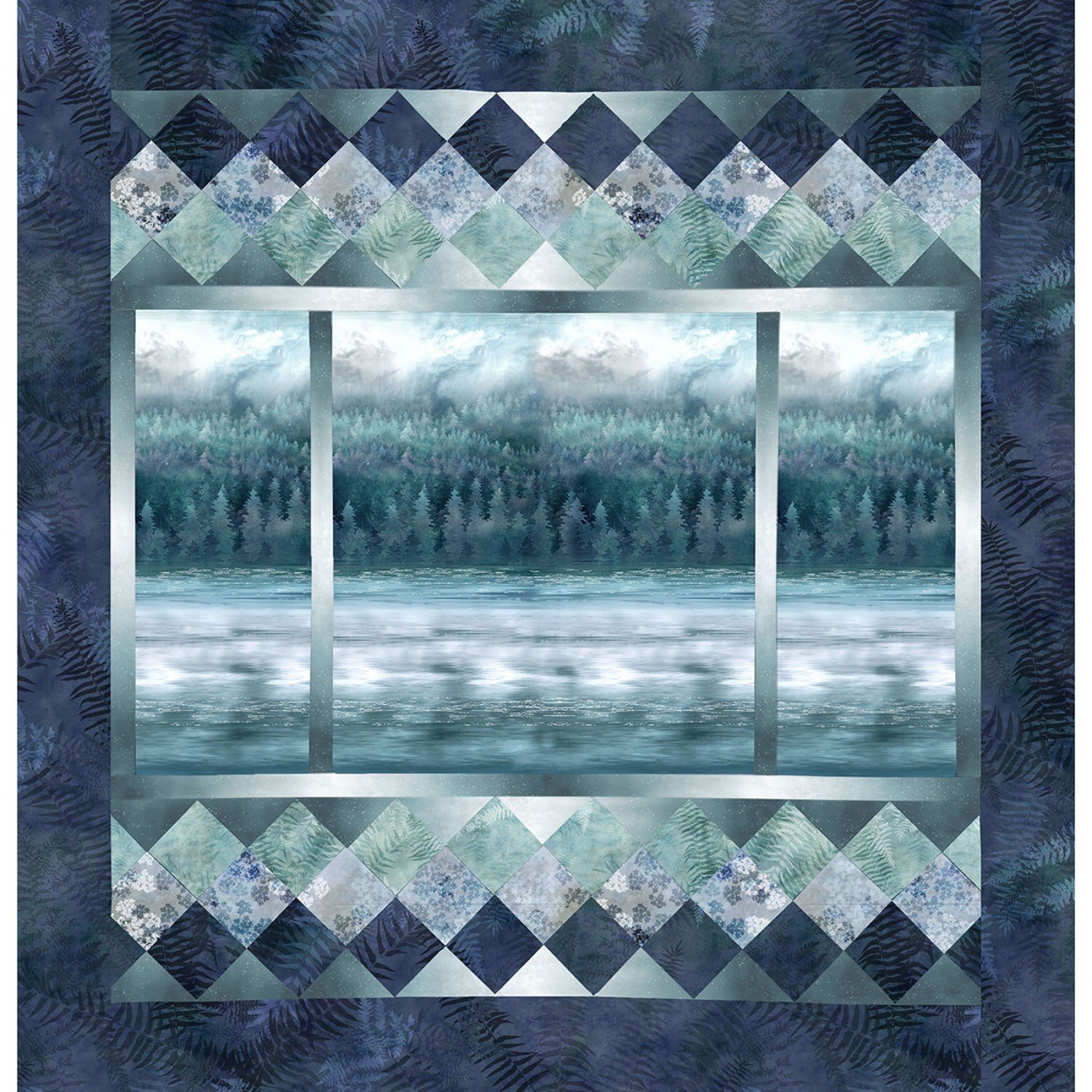 McKenna Ryan A View From Here kit teal Pattern Included MRVFH-21