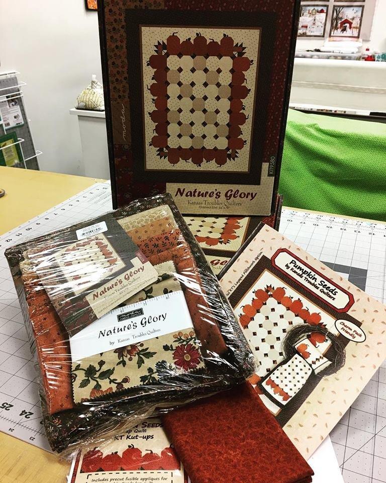 Natures Glory Fabric Kit