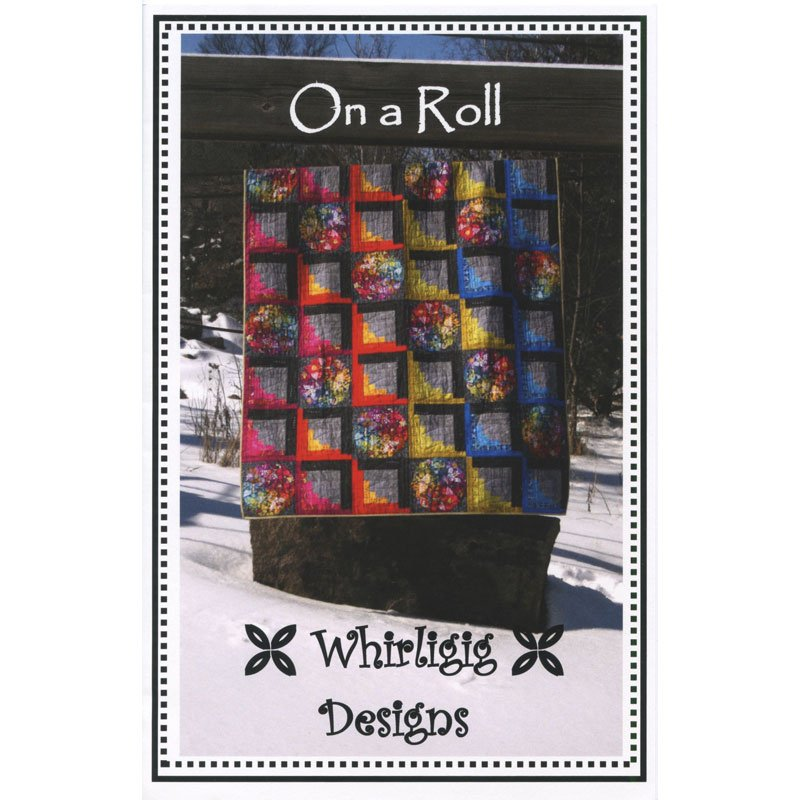On a Roll, Quilting Pattern by Whirligig Designs : OAR-WD